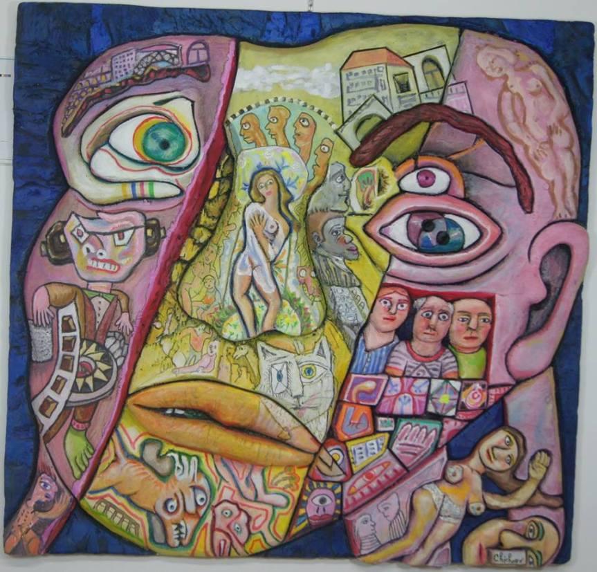 Mario Chichorro, peindre del'utopie…