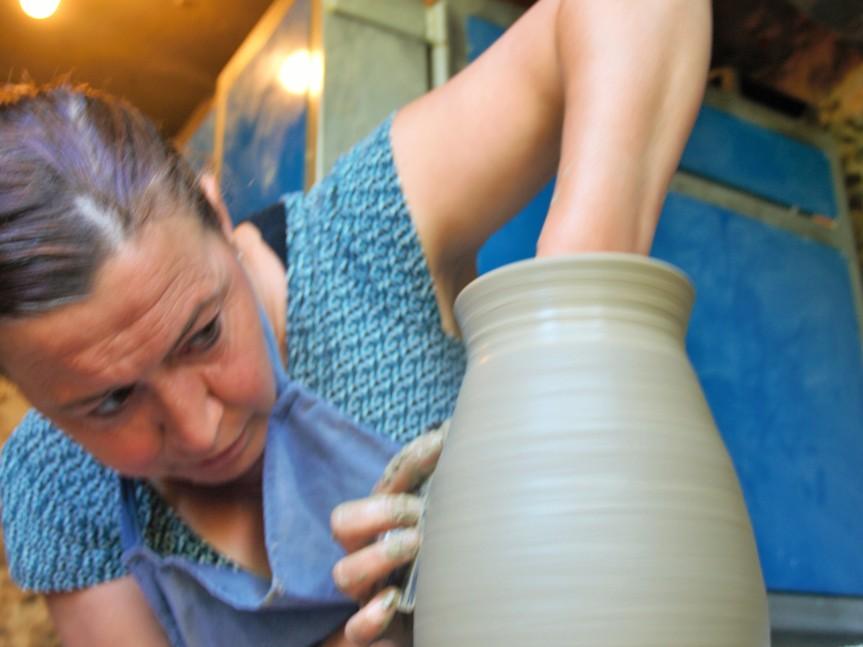 Véronique Puig, la potière de Llauro en PaysCatalan