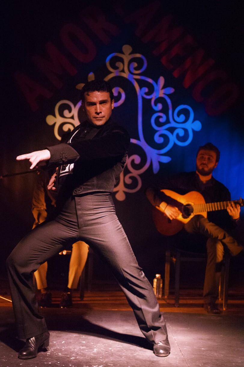 Andrés Peña (Photo Cécile Miquel Amor Flamenco )