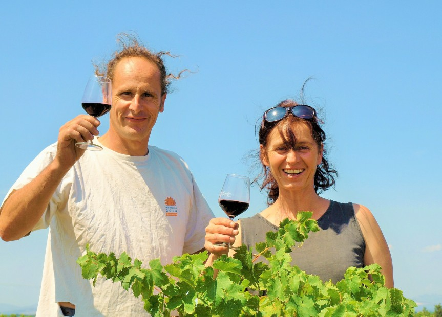 Isabelle Raoux et Didier Van Coteghem (Photo La Gazette Catalane )