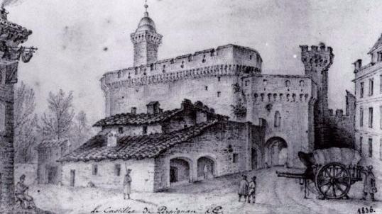 Le_Castillet en_1836 (Casa.fr)