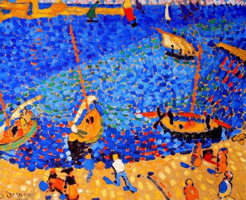 Bateaux à Collioure d'André Derain