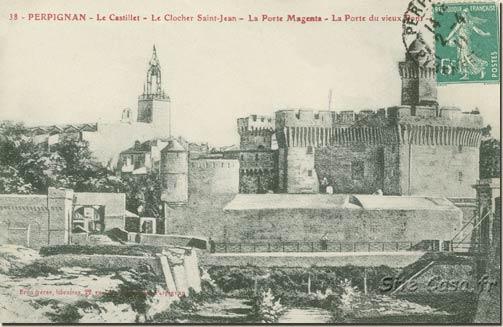 Le Castillet (Brun Frères Perpignan site Casa.fr)