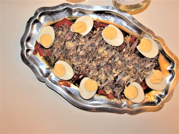Anchois à la catalane Ma Cuisine Catalane d'hier et d'aujourd'hui Jean-Luc Modat