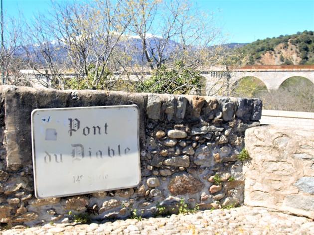 Céret le Pont du Diable 14ème siècle 'Photo La Gazette Catalane).jpg