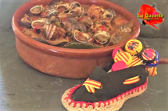 Ma recette des Escargots à laCatalane…