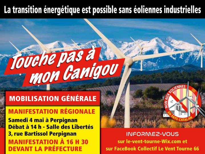 NON aux projets éoliens dans lesAspres