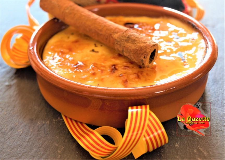 Ma recette : La crème traditionnellecatalane