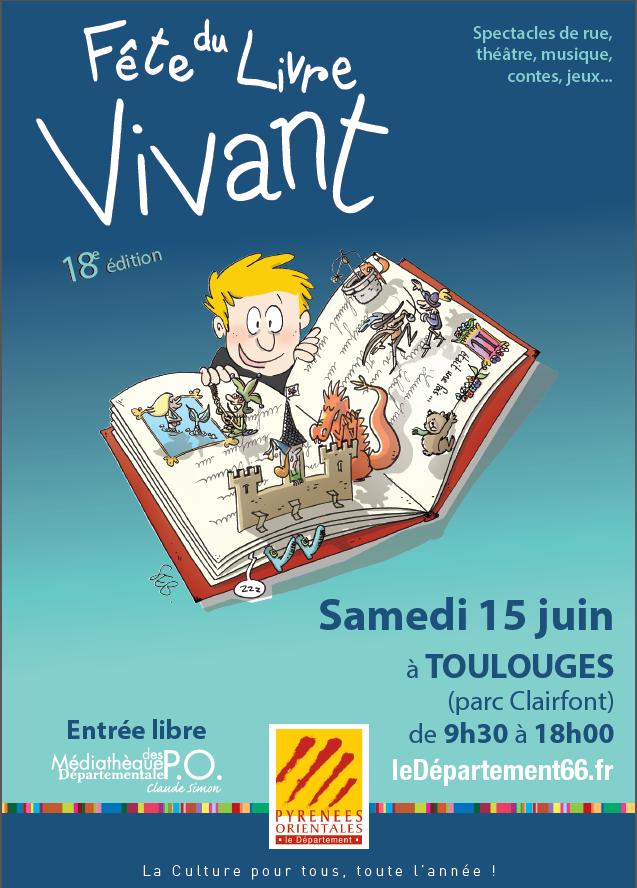 TOULOUGES : la Fête du Livre Vivant!