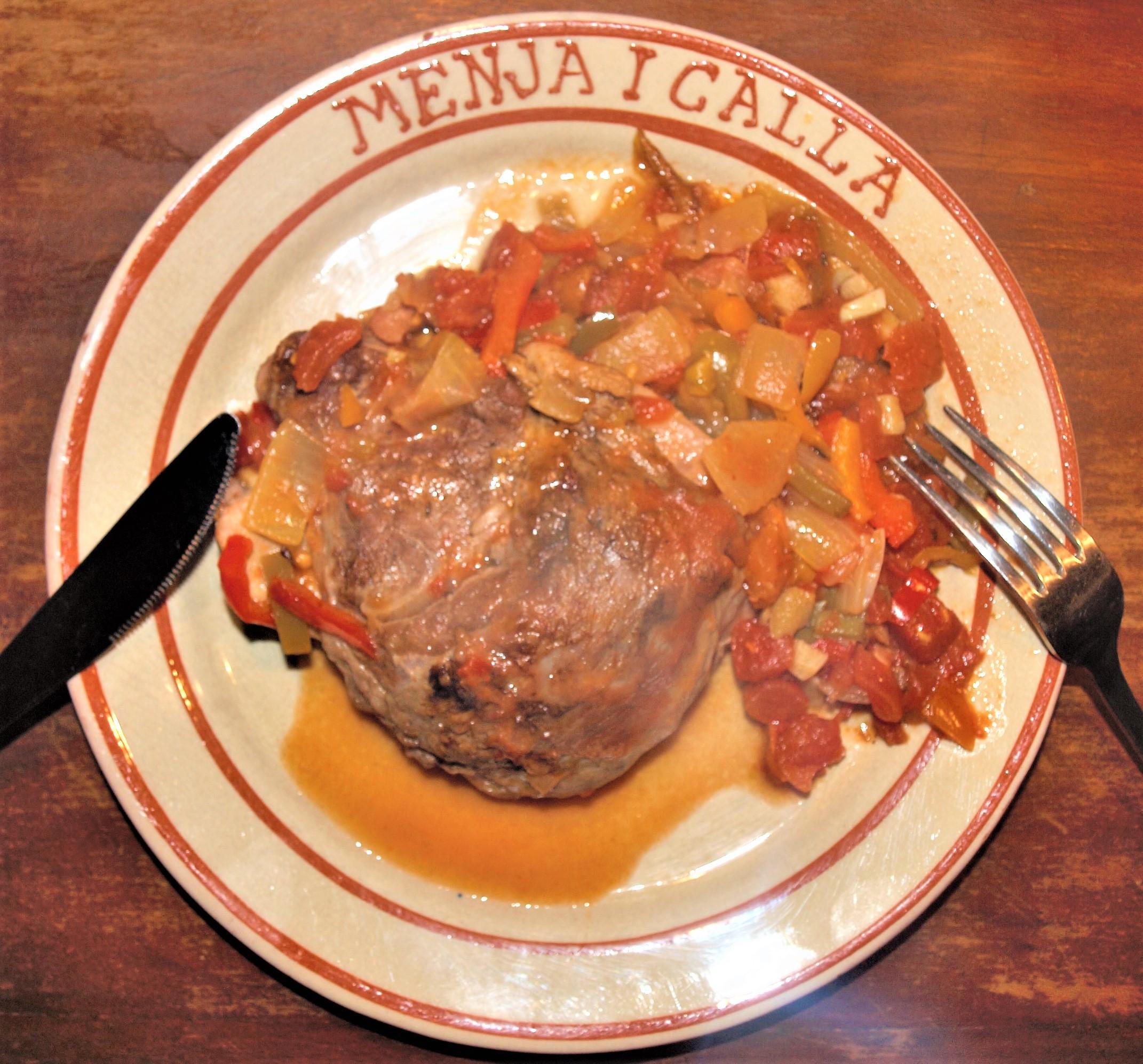 Joues de porc confites Ma Cuisine Catalane d'hier et d'aujourd'hui Jean-Luc Modat