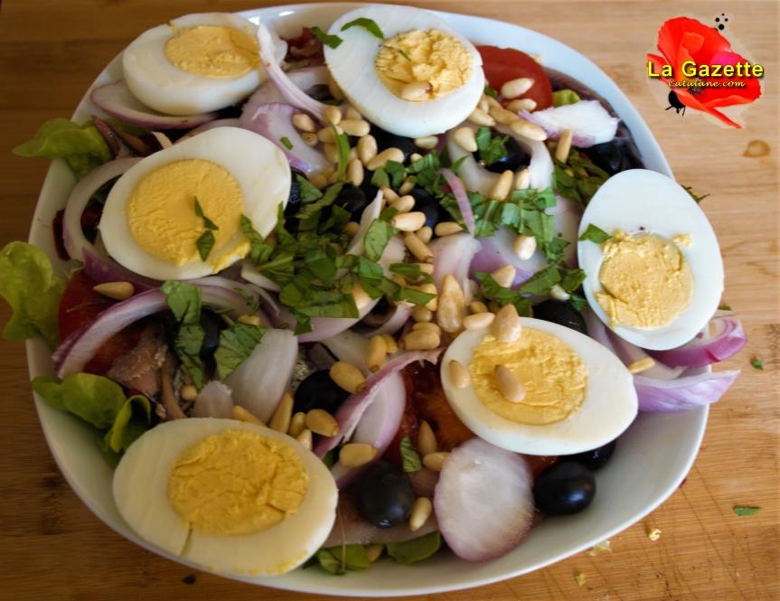 Ma recette de Saladecatalane