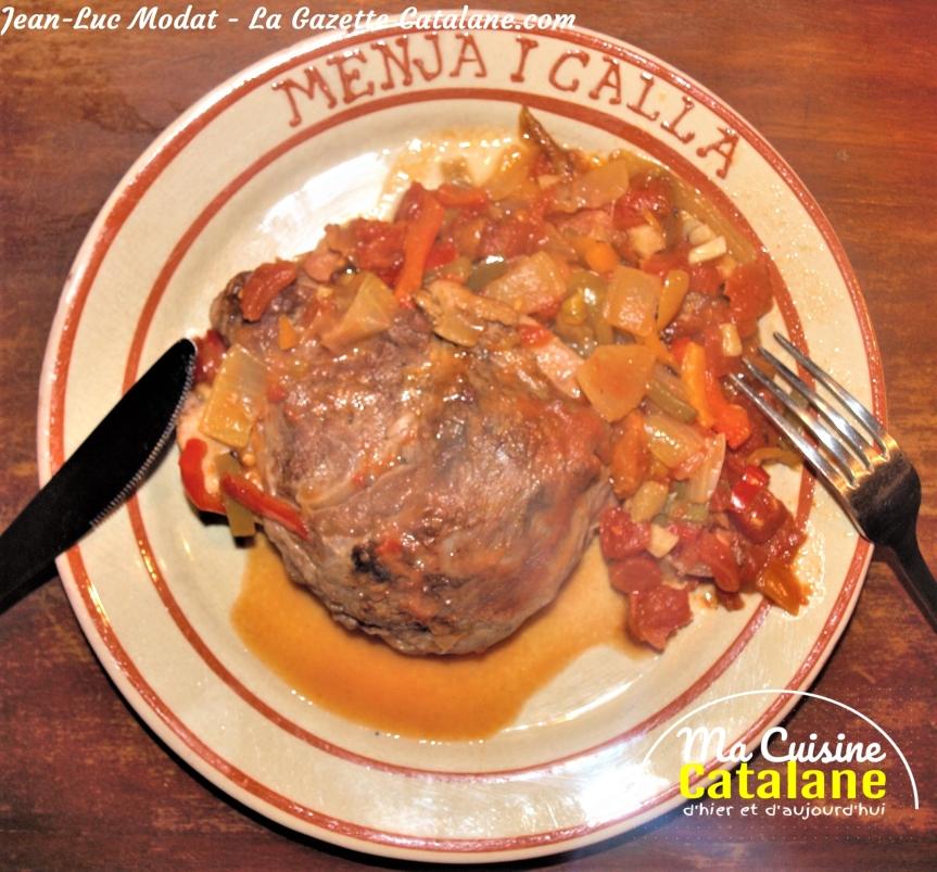 Ma recette catalane des galtesconfites