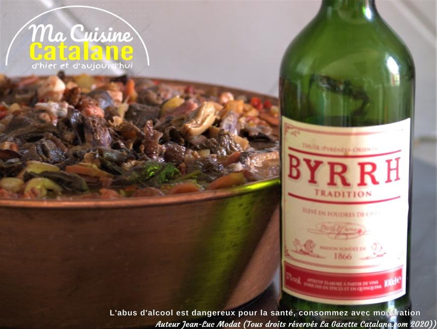 Ma bonne recette familiale catalane du coq auByrrh