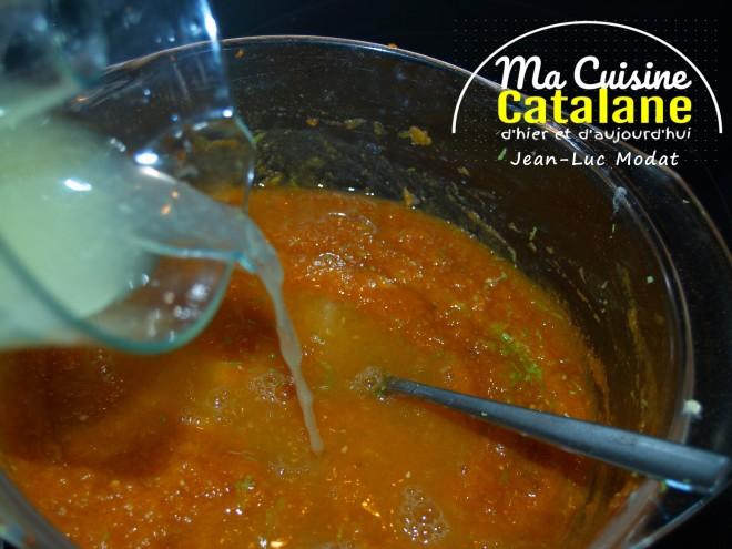 "gratin sucré de potiron ""Ma cuisine Catalane """