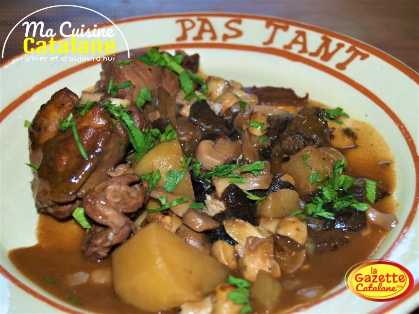 Ma bonne recette familiale catalane du civet delapin