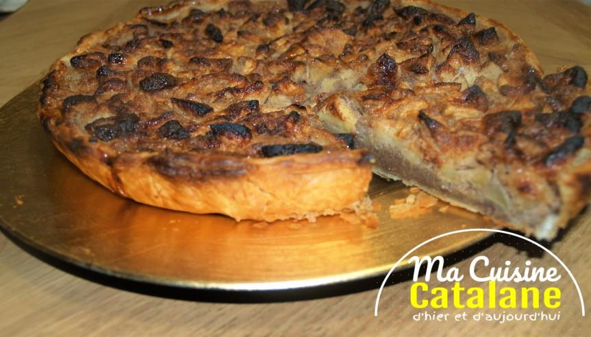 Recette catalane de la tarte aux pommes de monenfance…
