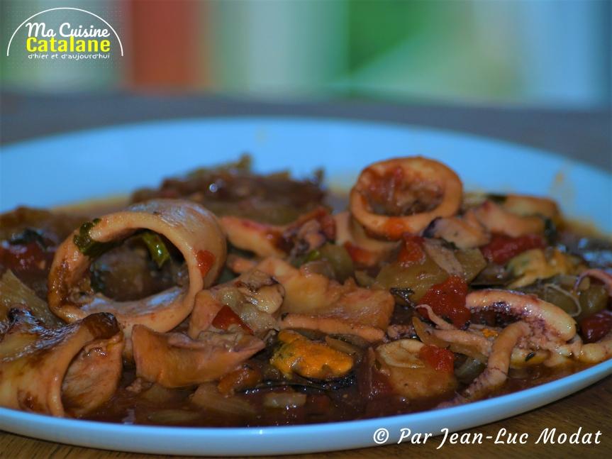Sublimes calamars à lacatalane