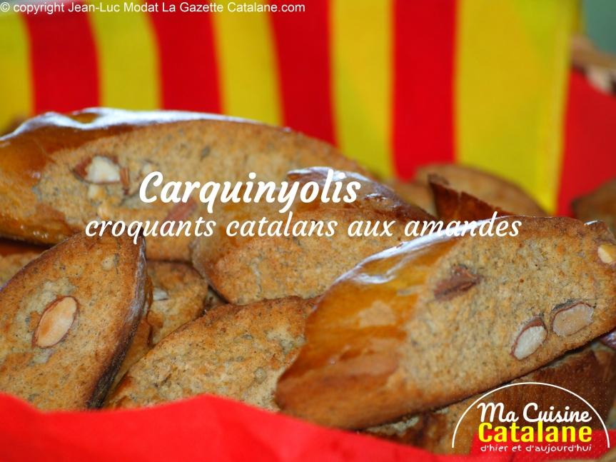 Croquignolles, croquants catalans auxamandes