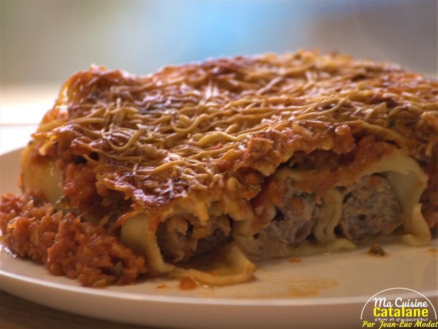 Cannellonis à lacatalane